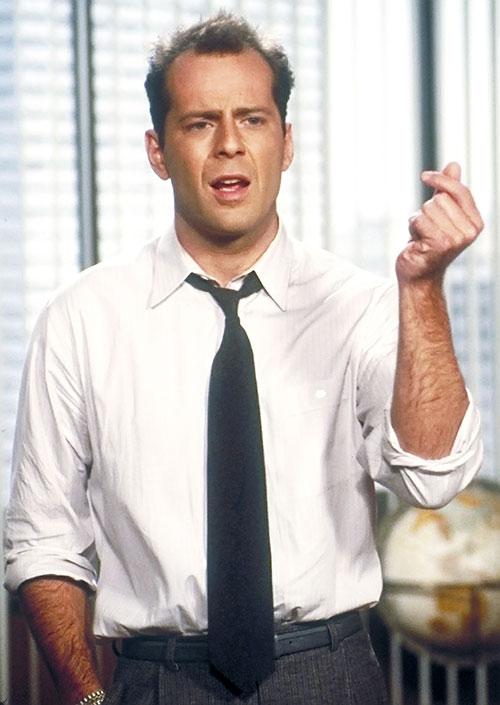 David Addison (Bruce Willis in Moonlighting)