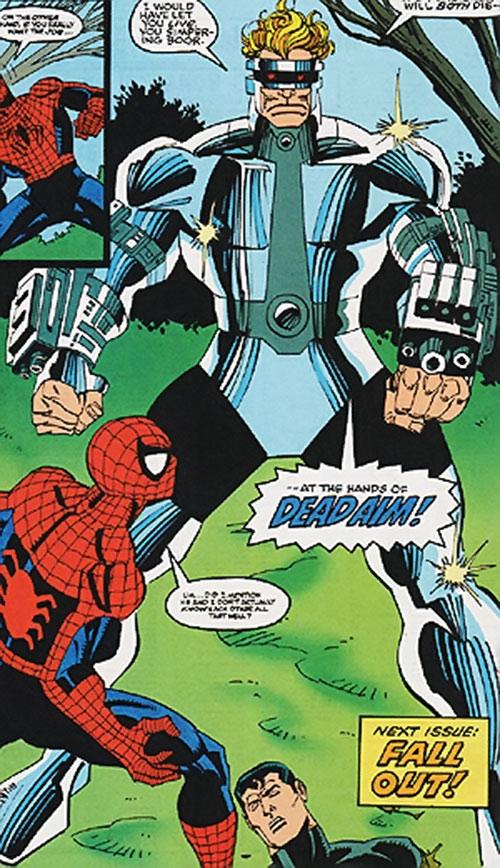 Dead Aim (Marvel Comics) vs. Spider-Man