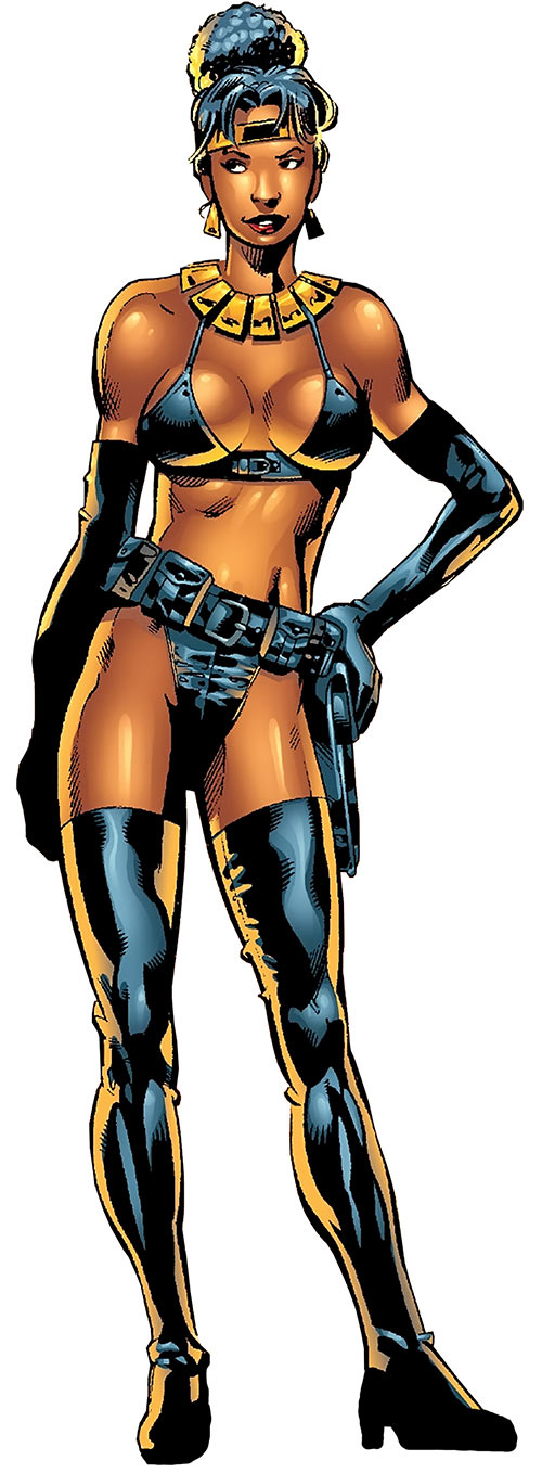 Deadly Nightshade (Captain America character) (Marvel Comics) modern bikini look
