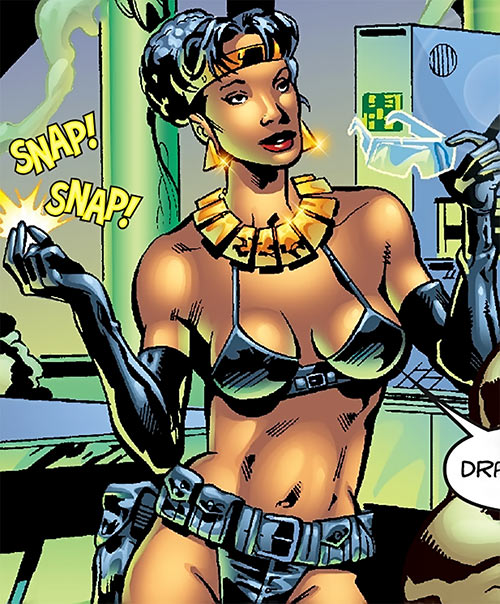 Deadly Nightshade (Captain America character) (Marvel Comics) snapping her fingers