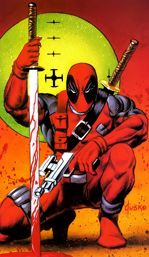 Deadpool by Joe Jusko