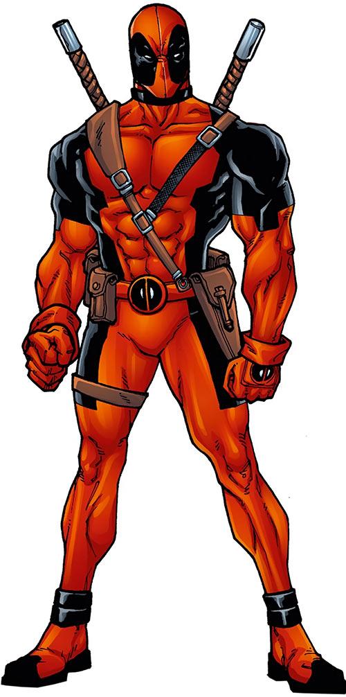 deadpool marvel comics merc with a writeups org