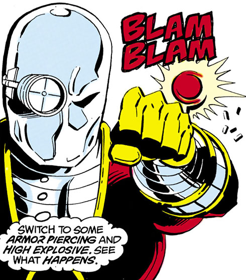 Deadshot thinking and shooting