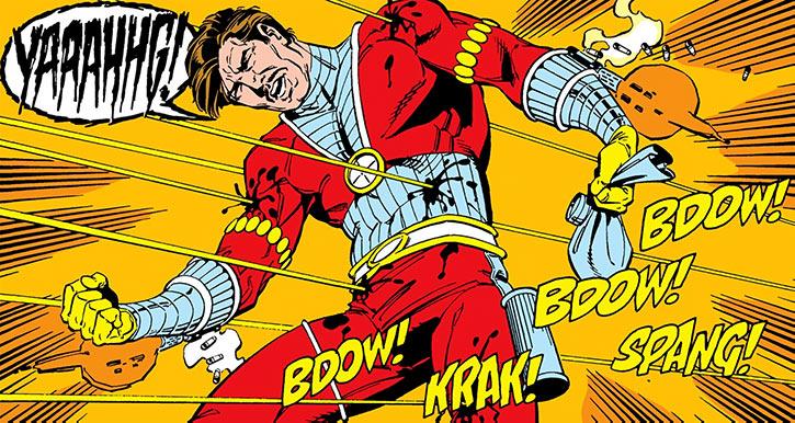 Deadshot attempts suicide-by-cop