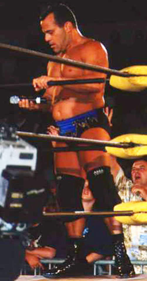 Dean Malenko the Iceman in the ring