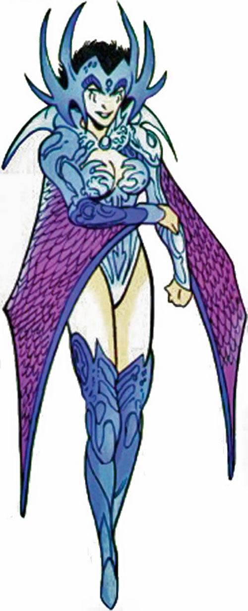 Deathbird of the Shi'ar (X-Men enemy) (recent Marvel Comics) as War