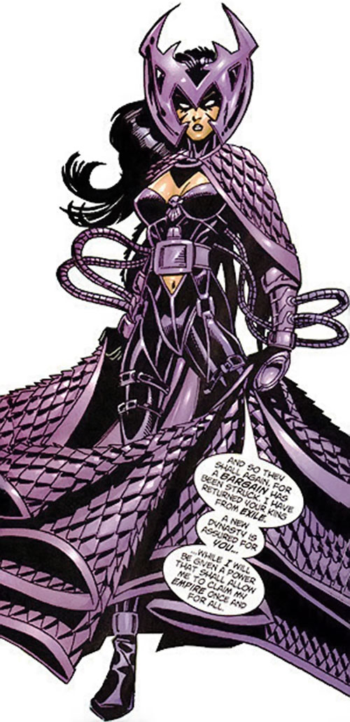 Deathbird of the Shi'ar (X-Men enemy) (recent Marvel Comics) by Bachalo