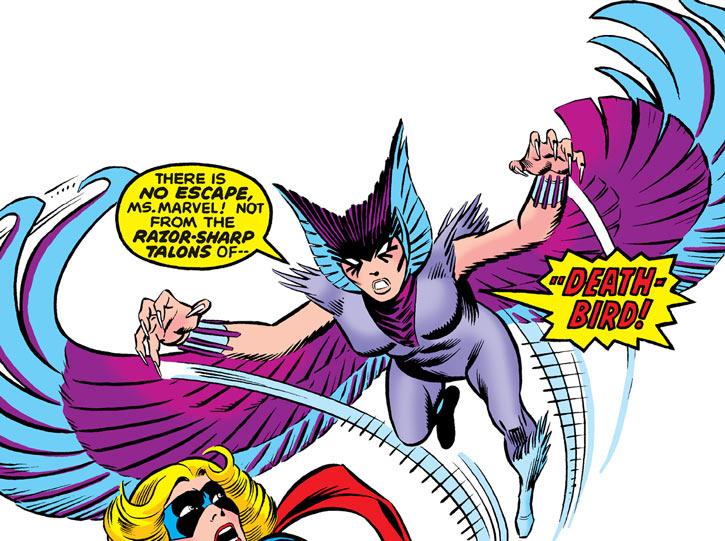 Deathbird vs. Ms. Marvel (Carol Danvers)