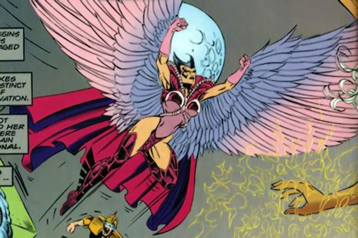 Deathbird takes flight