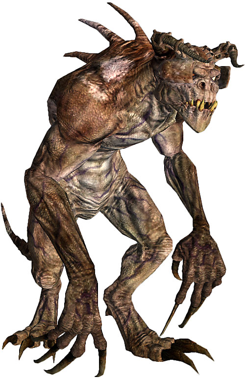 Deathclaw in Fallout