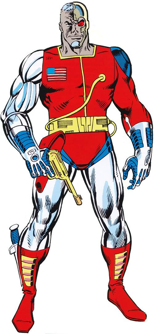 Deathlok the Demolisher 1980s Marvel art