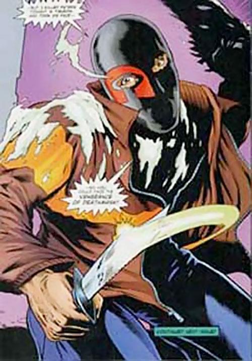 Deathmask (Night Man enemy) (Ultraverse comics)