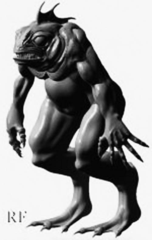 Deep One (Lovecraft Cthulhu mythos) 2/6