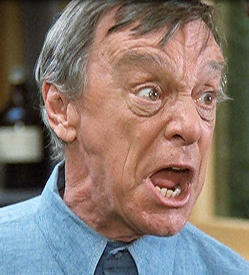Frye's Creature (Incredible Hulk TV series enemy) Harry Townes very angry