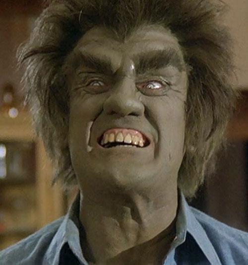 Frye's Creature (Incredible Hulk TV series enemy) roaring face closeup