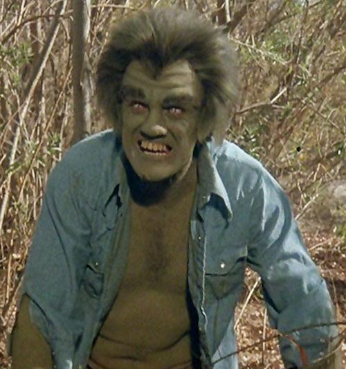 Frye's Creature (Incredible Hulk TV series enemy) in the woods