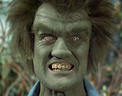 Frye's Creature (Incredible Hulk TV series enemy) gamma transformation 3/3