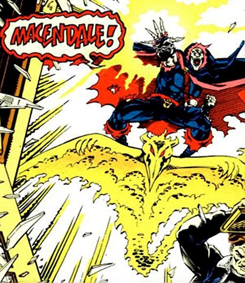 Demogoblin (Marvel Comics) on his demon glider