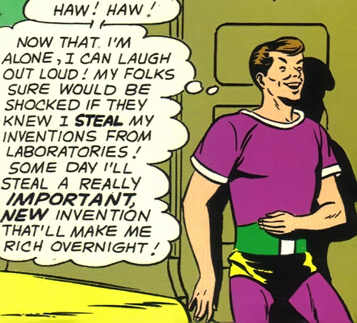 Dev-Em (Legion of Super-Heroes) (DC Comics) Silver Age knave