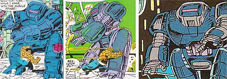 Devos the Devastator's bruiser robot vs. the Thing