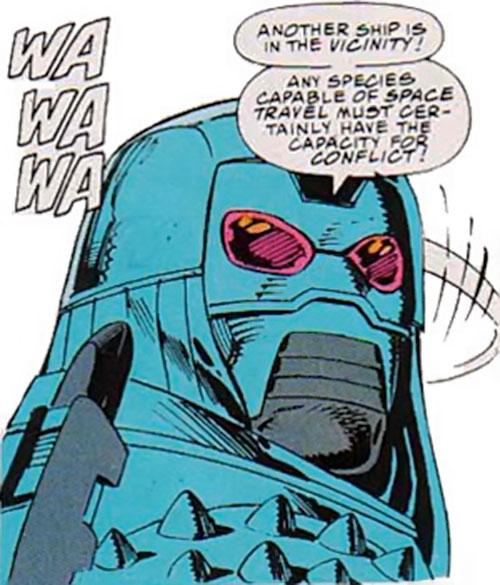 Devos the Devastator (Marvel Comics) closeup