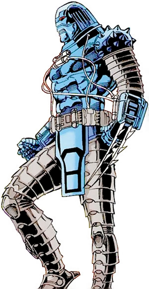 Devos the Devastator (Marvel Comics) with claws extended