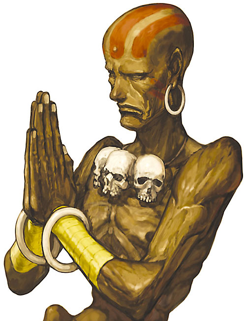 Dhalsim from Street Fighters