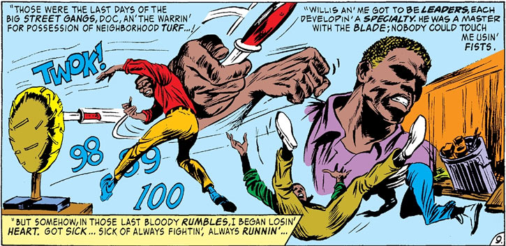 Flashback to Luke Cage and Willis Stryker, part 2 (Marvel Comics)