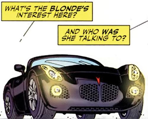 Rush (Diego Zhao) (DC Comics) Pontiac Solstice