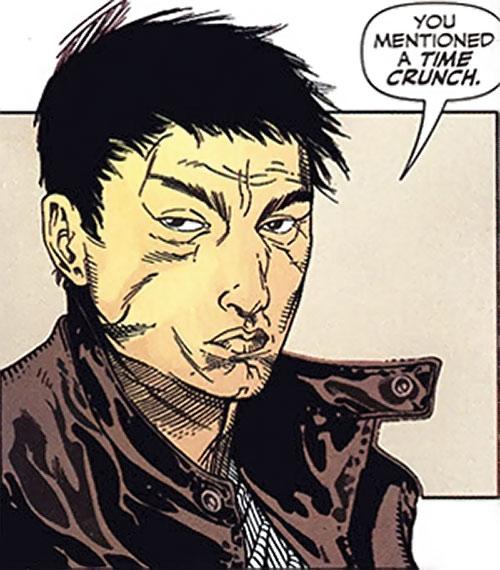 Rush (Diego Zhao) (DC Comics)