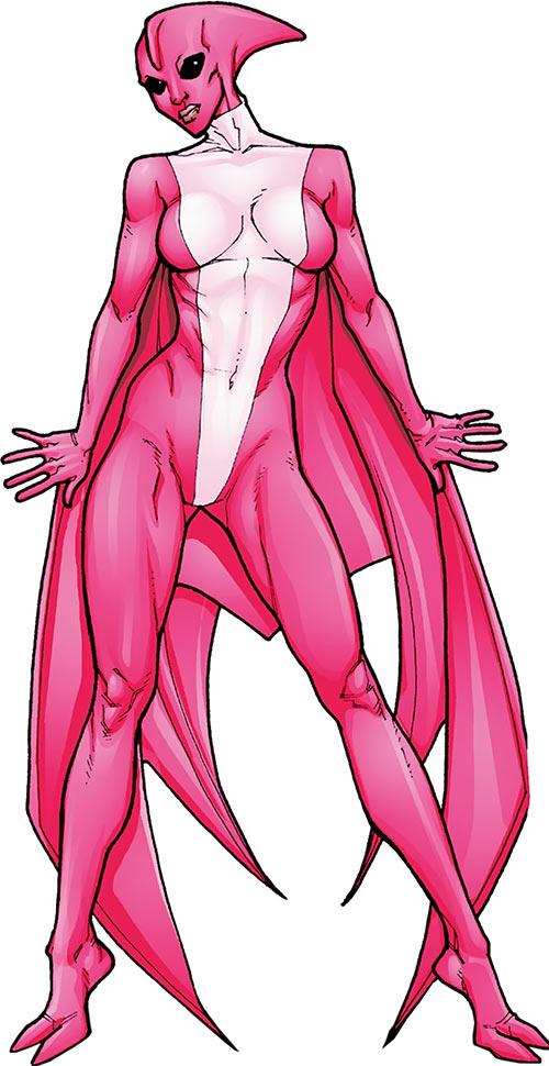 Dinah Soar of the Great Lakes Avengers (Marvel Comics)