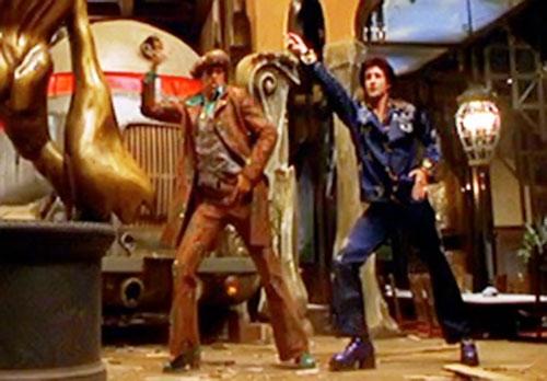 Disco Boys (Mystery Men) disco dancing 2/2
