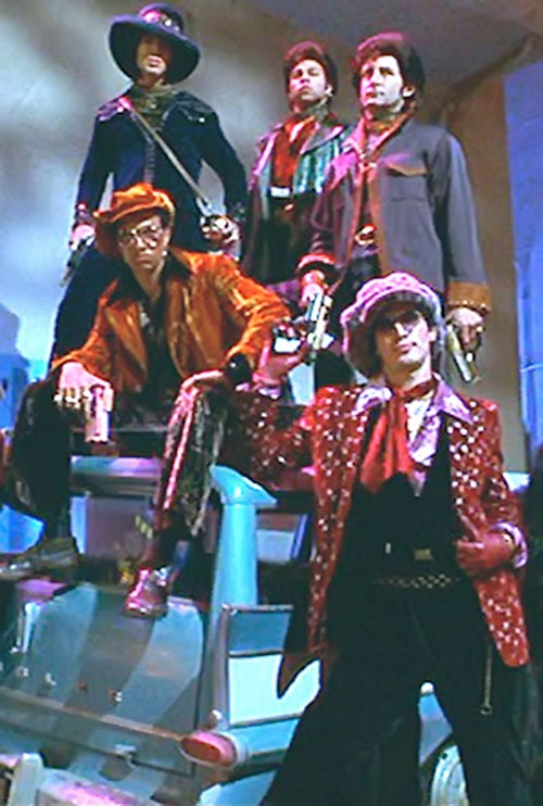 Disco Boys gang from the Mystery Men movie 1/2