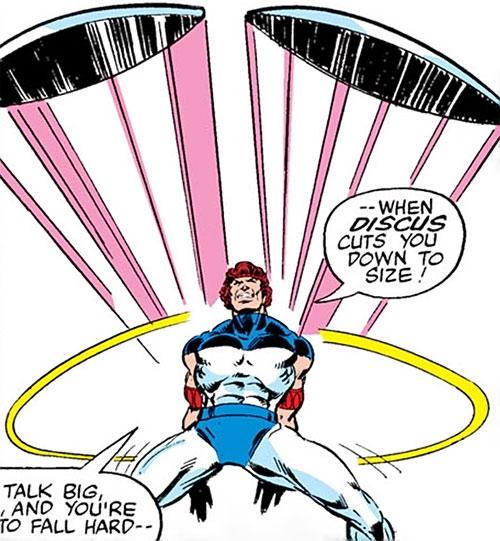 Discus (Luke Cage enemy) (Marvel Comics)