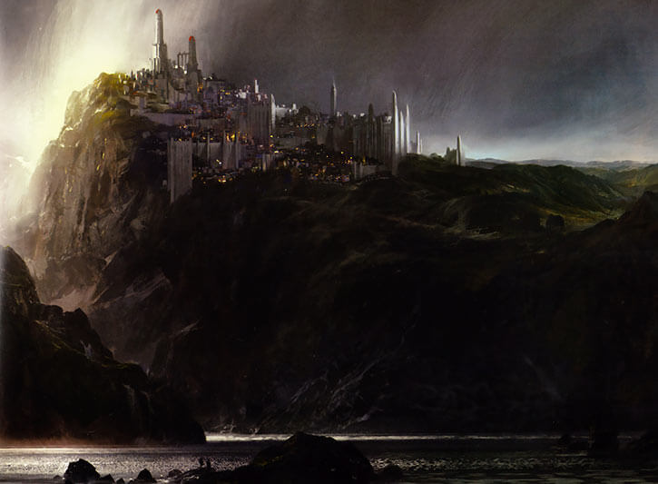 A general view of the city of Divinity's Reach