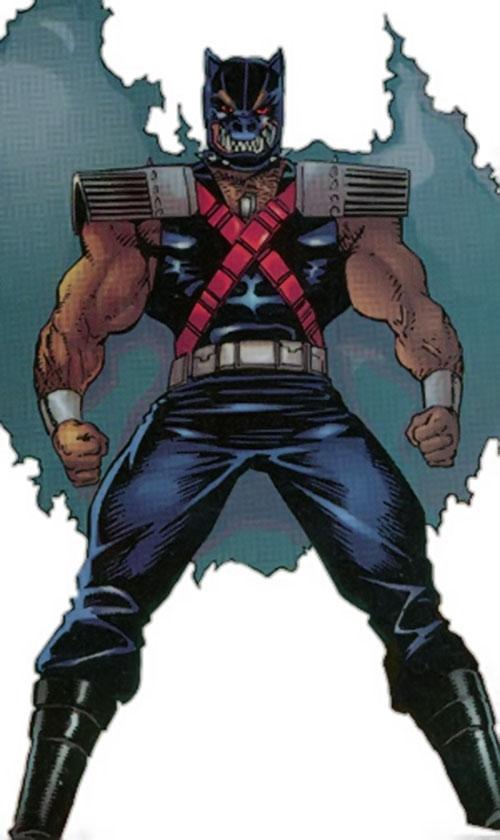 Doberman (Strikeback! enemy) (Malib and Image comics)