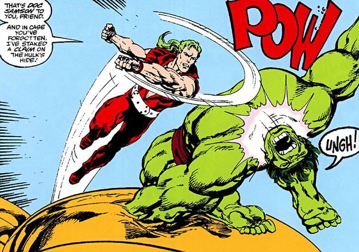 Doc Samson vs. the Savage Hulk