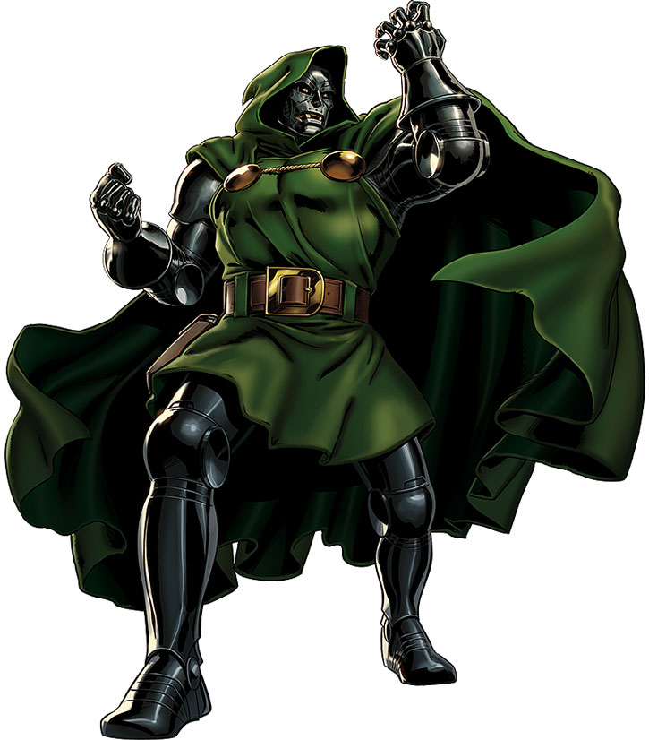 Doctor Doom in a dramatic pose