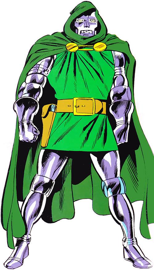 Doctor Doom (Fantastic 4 enemy) (Marvel Comics) classic 1980s picture