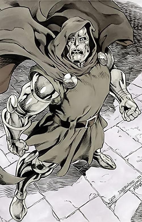 Doctor Doom (Fantastic 4 enemy) (Marvel Comics) by Geoff Isherwood
