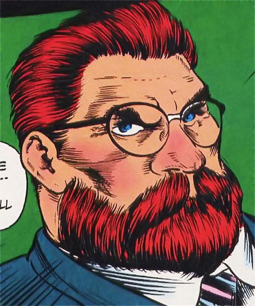 Doctor Faustus (Marvel Comics) (Profile #3) face closeup