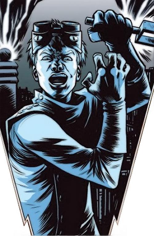 Doctor Horrible (Neil Patrick Harris) comic book art