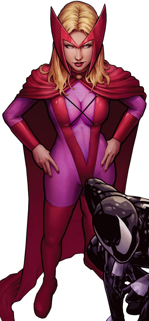 Dr. June Covington (Toxic Doxie) (Avengers / Thunderbolts enemy) (Marvel Comics) scarlet witch costume cover