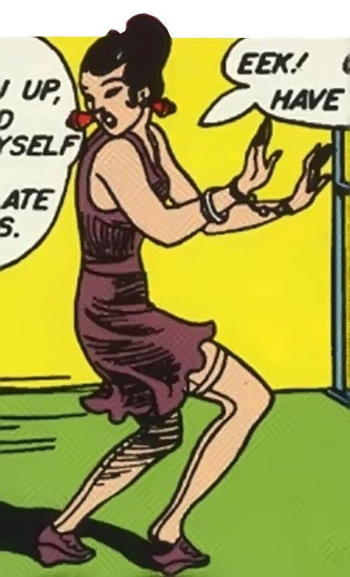 Princess Maru (Doctor Poison) (Wonder Woman enemy) (DC Comics)