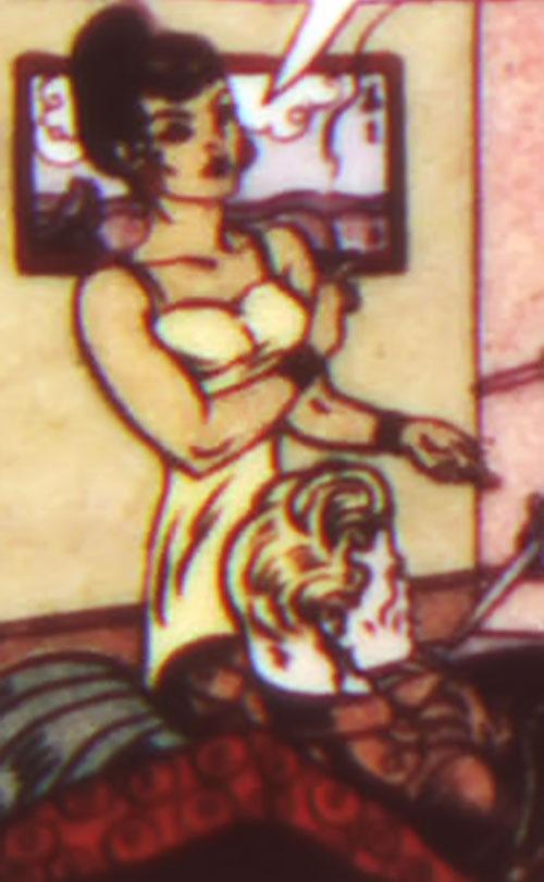Princess Maru (Doctor Poison) (Wonder Woman enemy) (DC Comics) and Steve Trevor