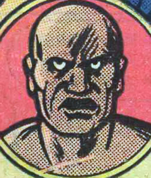 Doctor Steel (Big Jim action figure) face closeup