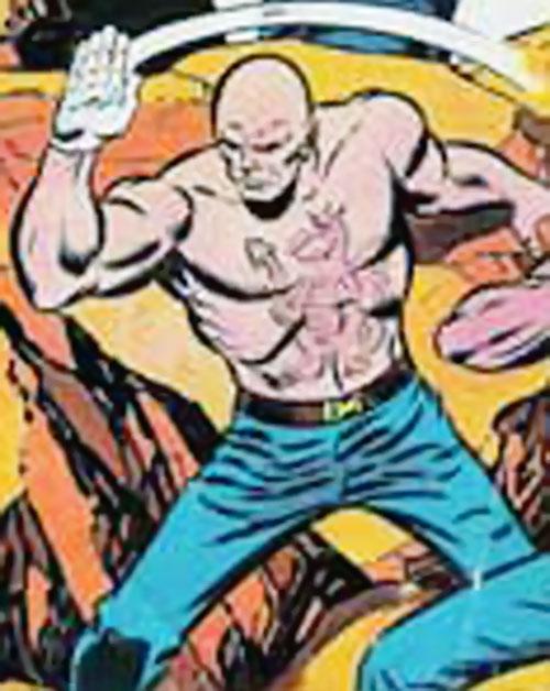 Doctor Steel (Big Jim action figure) in battle