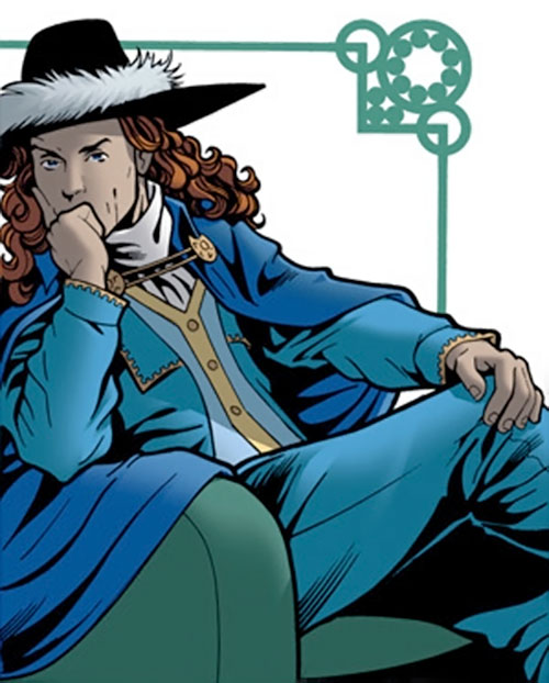 Doctor Tachyon (Wild Cards novels) in blue and teal