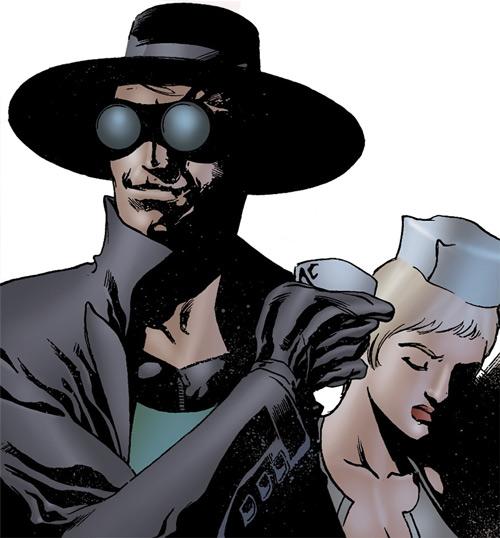 Doktor Sleepless (Ellis Avatar Comics) and Nurse Igor