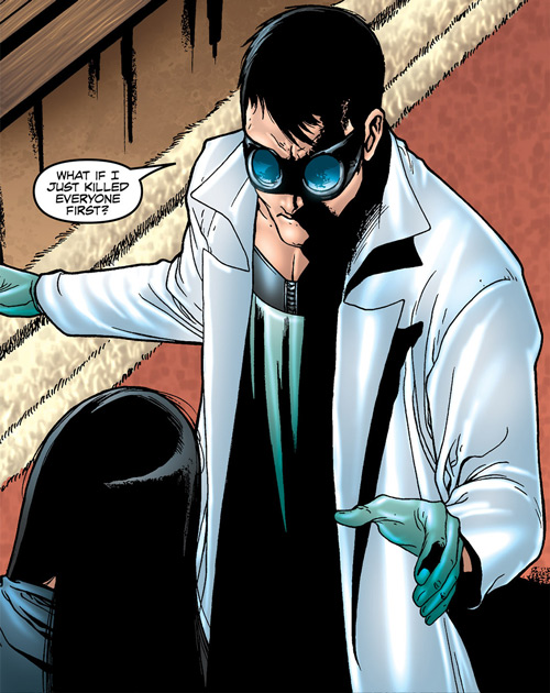 Doktor Sleepless (Ellis Avatar Comics) threatening